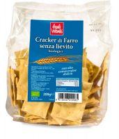 Cracker di farro senza lievito Baule volante