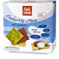 Cracker mix di farro alle verdure - linea benessere Baule volante