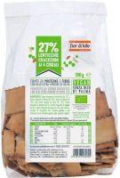 Crackerini integrali con farina di lenticchie ai 4 cereali Fior di loto