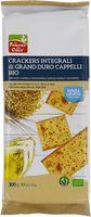 Crackers integrali di grano duro cappelli La finestra sul cielo