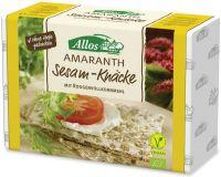 Crackers integrali di segale e amaranto con sesamo Allos