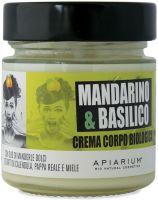 Crema corpo mandarino e basilico Apiarium