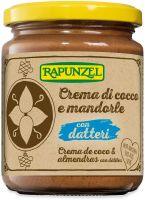 Crema di cocco e mandorle con datteri Rapunzel