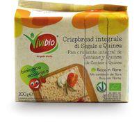 Crispbread integrale di segale con quinoa Vivibio
