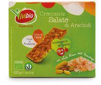 Croccante arachidi salato Vivibio