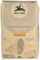 Farina grano tenero tipo 2 macinata a pietra Alce nero