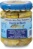 Filetti di orata selvaggia in olio extravergine di oliva Compagnia della pesca tradizionale