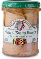 Filetti di tonno bianco in olio extravergine di oliva Iasa il gustoso