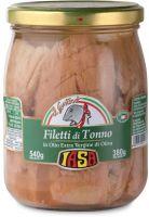 Filetti di tonno in olio extravergine di oliva Iasa il gustoso