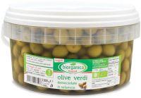 Gastronomia da banco - olive verdi denocciolate in salamoia Biorganica nuova