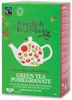 Green tea pomegranate English tea shop