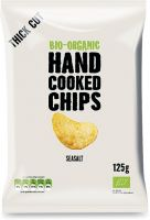 Hand cooked chips - classiche con sale Hand cooked chips