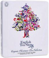 Holiday tree tin - selezione di te e infusi in latta decorata English tea shop
