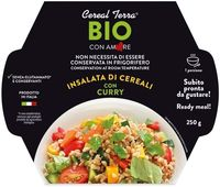 Insalata di cereali con curry Cereal terra