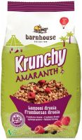 Krunchy amaranth - granola all'amaranto con lamponi e aroni Barnhouse