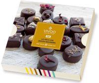 La praline - praline di cioccolato crudo fondente Vivoo