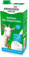 Latte di capra parzialmente scremato uht Andechser