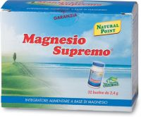Magnesio supremo - bustine monodose Natural point