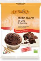 Muffin al cacao con gocce di cioccolato Le piumette
