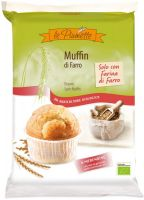 Muffin di farro bianco Le piumette