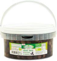 Olive nere denocciolate in salamoia Biorganica nuova