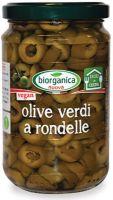 Olive verdi a rondelle in salamoia Biorganica nuova