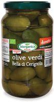 Olive verdi bella di cerignola in salamoia Biorganica nuova