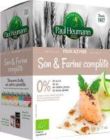 Pane azimo di frumento integrale Paul heumann