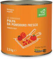 Polpa di pomodoro in latta grande - filiera Ecornaturasi