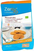 Riccafrolla di grano khorasan kamut con crema di riso Zer%latte