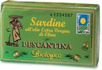 Sardine in olio extravergine d'oliva Pescantina