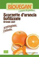 Scorzette d'arancia liofilizzate Bio vegan