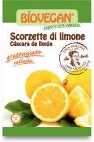 Scorzette di limone liofilizzate Bio vegan
