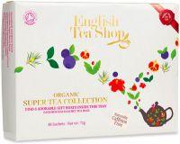 Selezione di infusi in scatola di cartoncino English tea shop