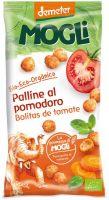 Snack al farro con pomodoro e carota Mogli