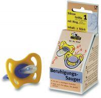Succhiotto calmante - misura 2 - silicone con anello dai 6 mesi  Mollis