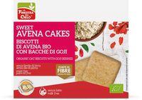 Sweet avenacakes - biscotti avena con bacche goji La finestra sul cielo