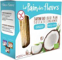 Tartine tostate al cocco Pain des fleurs