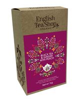 Te nero zenzero e pesca English tea shop