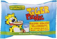 Tiger picnic - wafer di farro con ripieno al latte e nocciole. Rapunzel