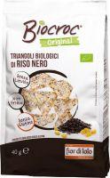 Triangoli di riso nero Biocroc