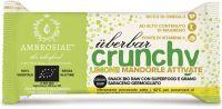 Uberbar crunchy limone e mandorle attivate Ambrosiae