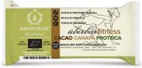 Uberbar fitness cacao canapa proteica Ambrosiae