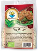 Veg burger - preparato per polpette vegetali Natural food
