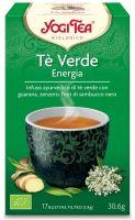 Yogi tea energy green Yogi tea