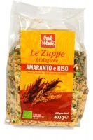 Zuppa amaranto e riso Baule volante