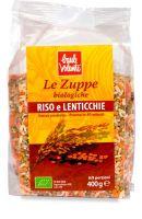 Zuppa riso e lenticchie Baule volante