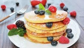 Ricetta Pancake con  Farina di Farro