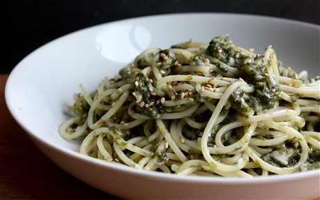 Ricetta Spaghetti con alga Nori